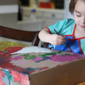 Boredom Buster: Paint a Box!
