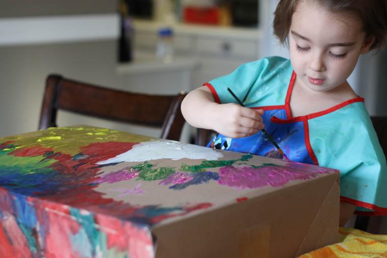 Preschool Activity -- Paint a Box-5