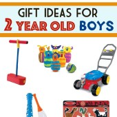 Gift Ideas for a Two Year Old Boy