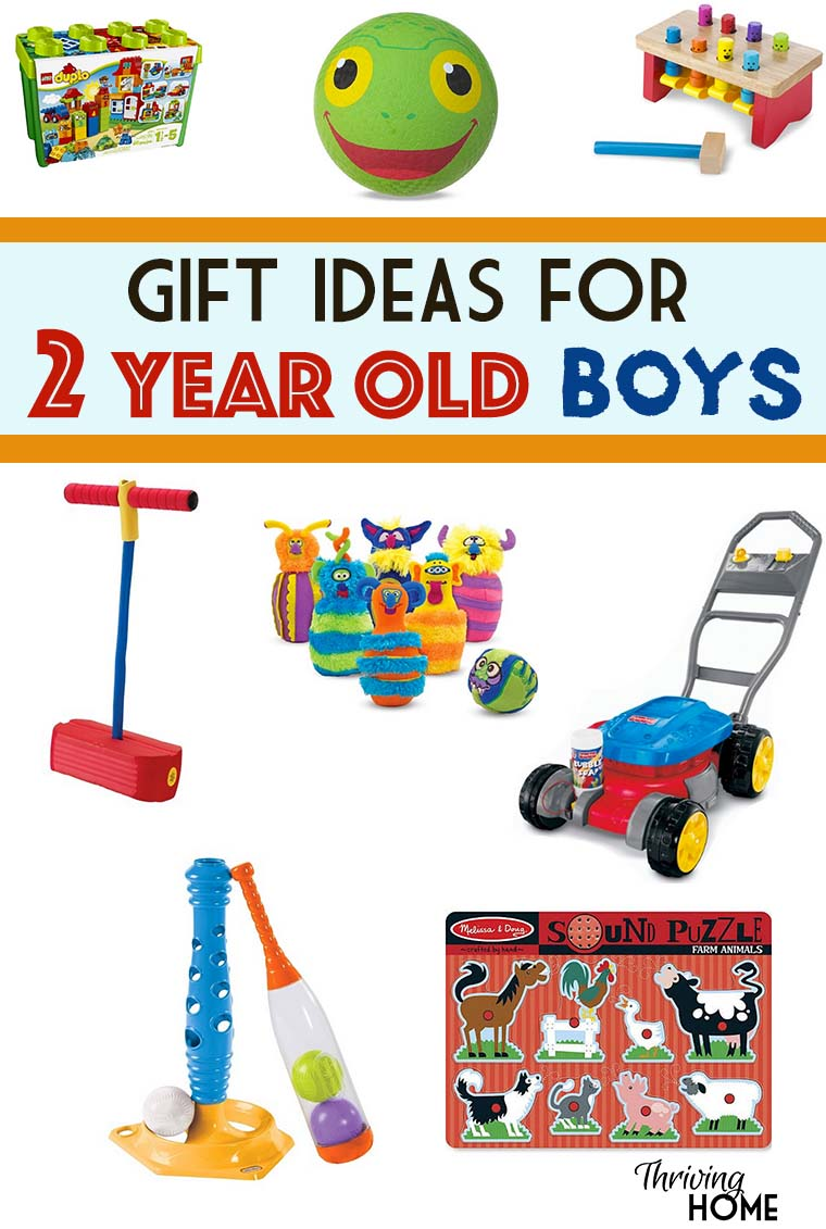 gift ideas for two year old boys