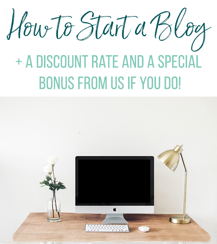 Easy step-by-step tutorial on how to start a blog. Grab a discount rate AND a special bonus from Thriving Home if you sign up through them.
