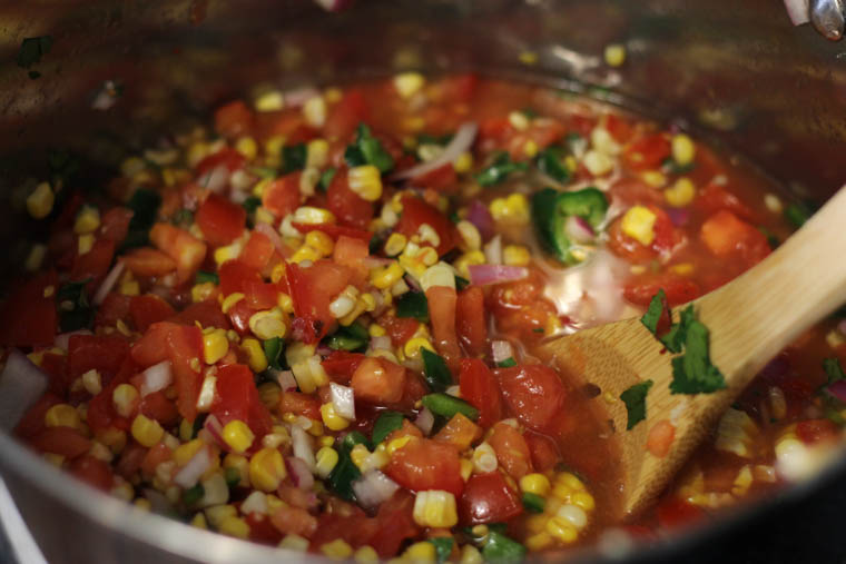 Salsa Recipe Fresh Tomatoes Freeze