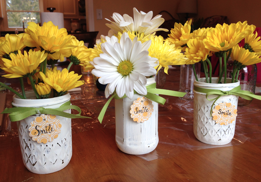 DIY Chalk Paint Vases