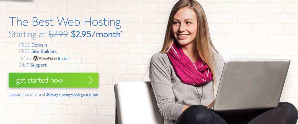 Blue host hosting prices