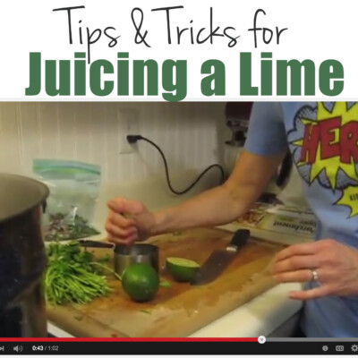 Video: Tips & Tricks for Juicing a Lime