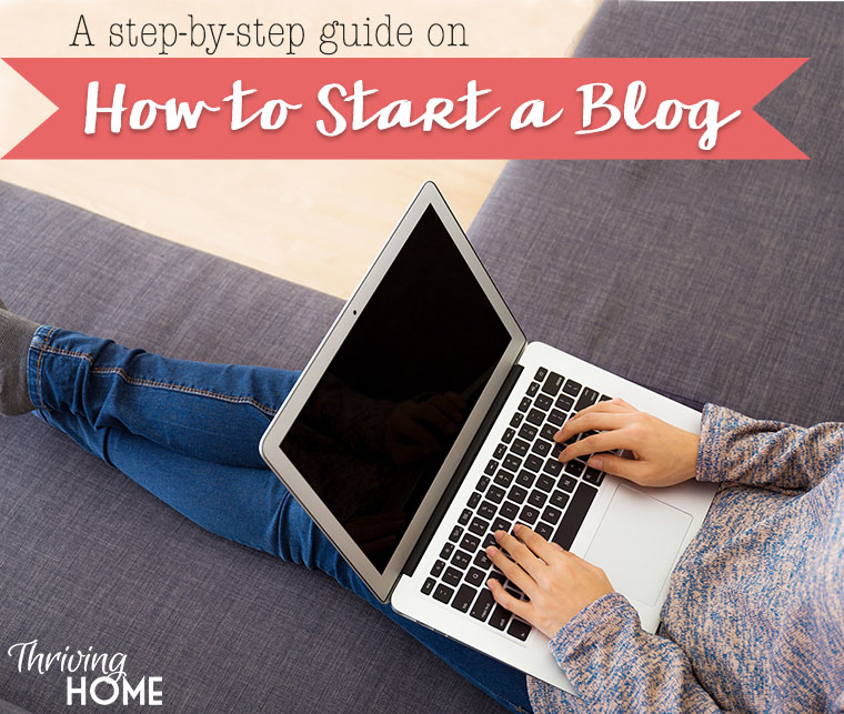 How to start a blog. A step-by-step tutorial with lots of photos walking you through how to start your own blog. These bloggers will also give you a special bonus if you start though them!