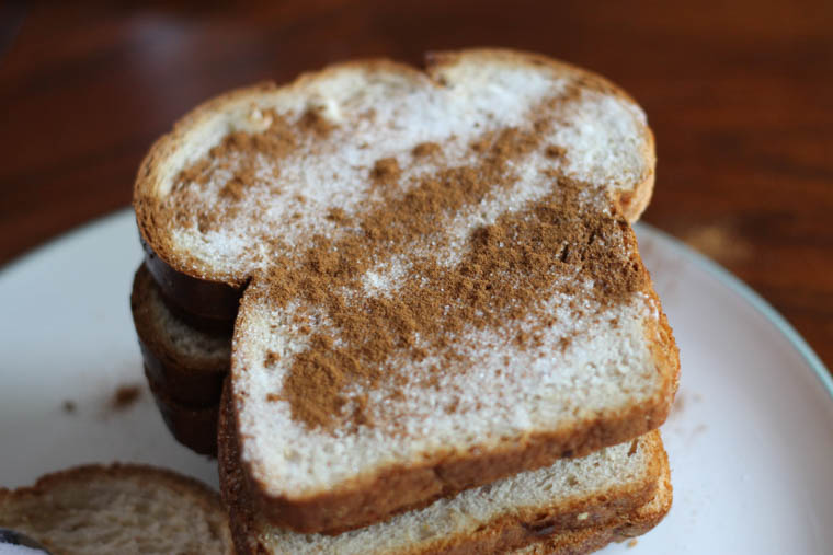 how to make cinnamon toast