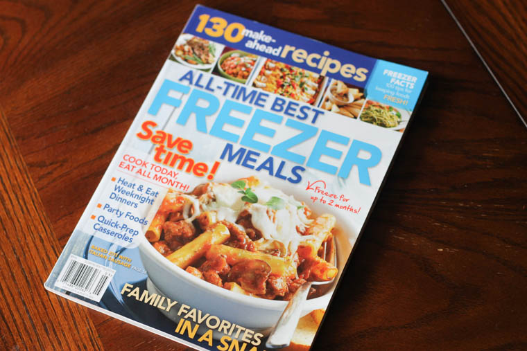 Freezer Meal Magazine