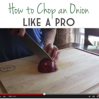 Video: How to Chop an Onion Like a Pro