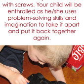 Mom Hack: Give Your Kid a Screwdriver