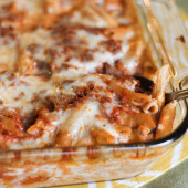 Baked Penne Pasta Recipe--Freezer Friendly!-14