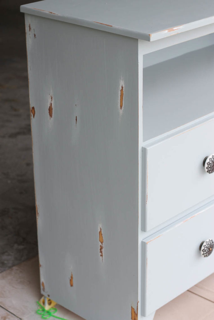 Repurposed Changing Table--How to paint furniture_-12