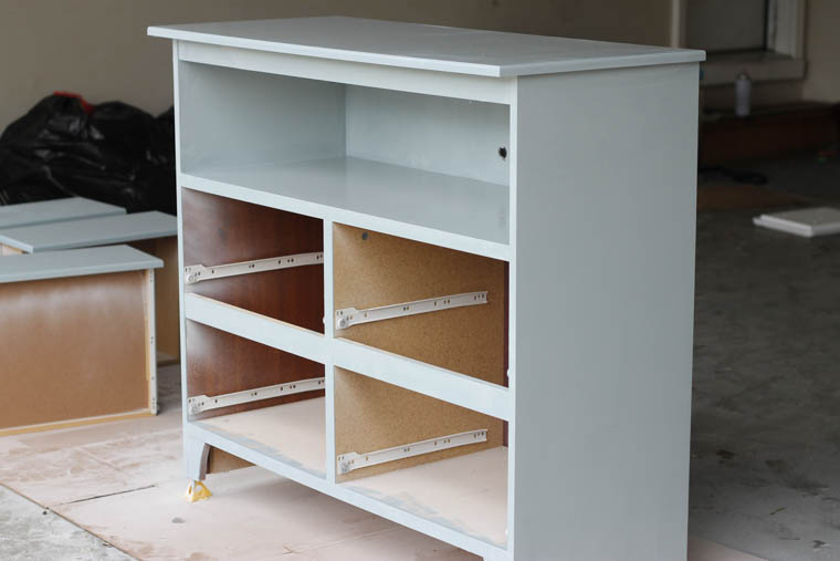 Repurposed Changing Table--How to paint furniture_-7