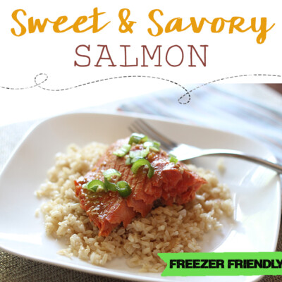 Sweet and Savory Salmon {Freezer Meal}