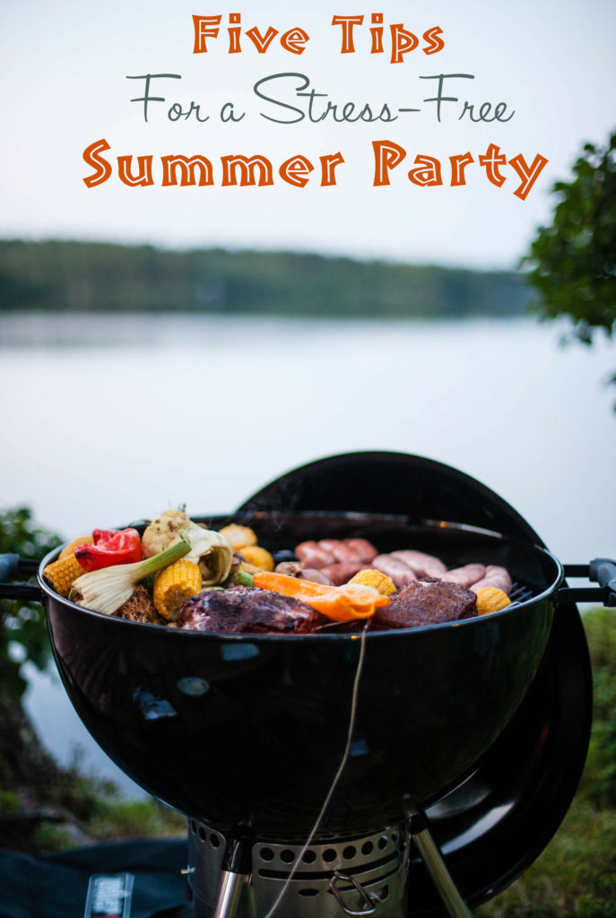 Tips for a stress-free summer party