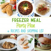 Freezer Meal Party Plan Image