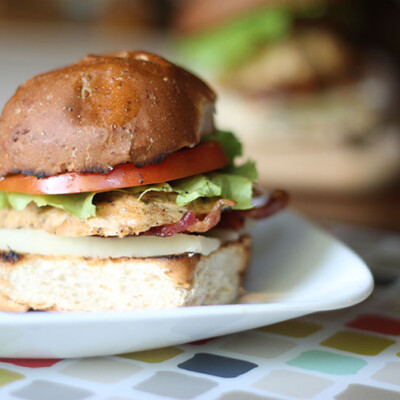 Gourmet Chicken Sandwiches {Freezer Meal}