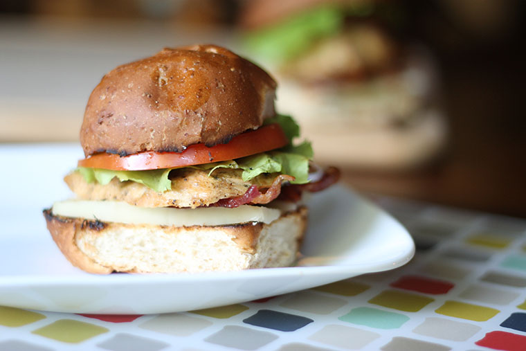 Gourmet Chicken Sandwiches are the ultimate chicken sandwiches for any weeknight! Just prep and freeze all the components ahead of time. This well-seasoned, versatile grilled chicken also works to top pasta or salads. #freezermeal #realfood #thrivinghome