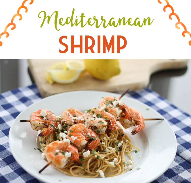 This freezer-friendly shrimp will make even the most reluctant seafood eaters happy! It's a fun one to serve for family dinner or as a party appetizer. #freezermeal #realfood
