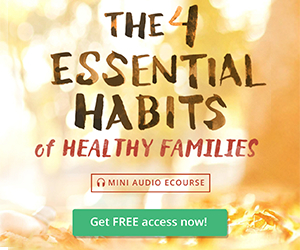 The 4 Essential Habits of Healthy Families (FREE E-course!)