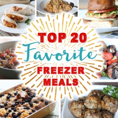 Top 20 Favorite Freezer Meals