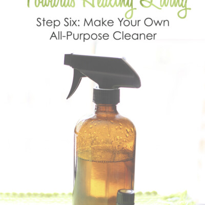 Healthy Living Small Step #6: Make Your Own All-Purpose Cleaner