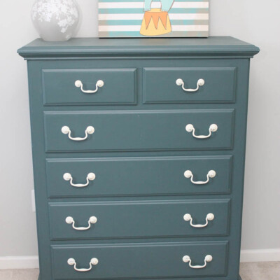 Dinged Up Dresser Finds New Life