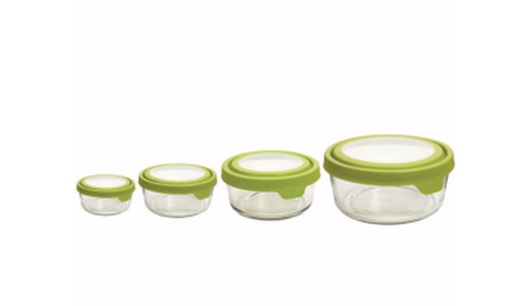 Mighty Nest food storage containers. Great start for switching from plastic to glass.
