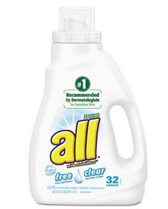 10 Small Steps Towards Healthy Living. Step Ten: Switch to an all-natural laundry detergent