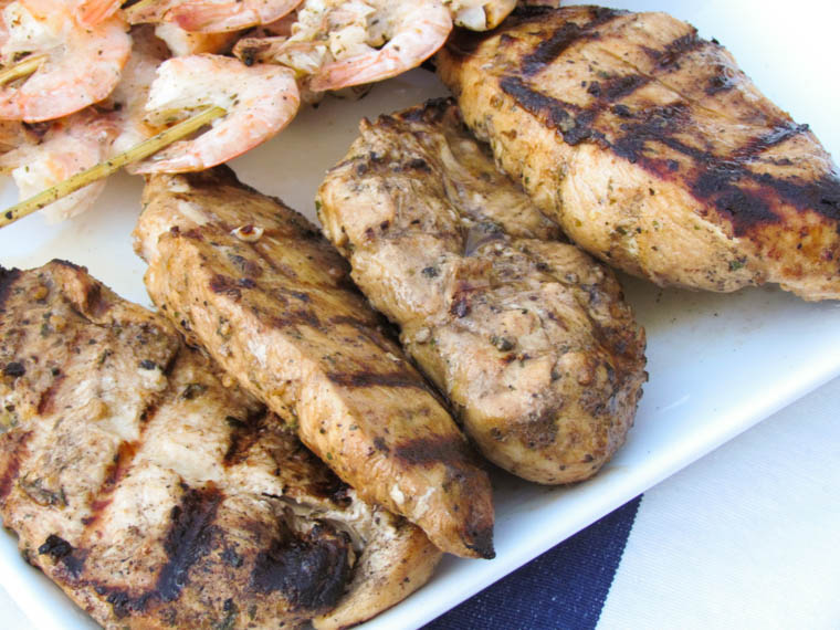 Balsamic Herb Grilled Chicken-3
