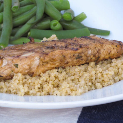 Grilled Balsamic Herb Chicken {Freezer Meal}