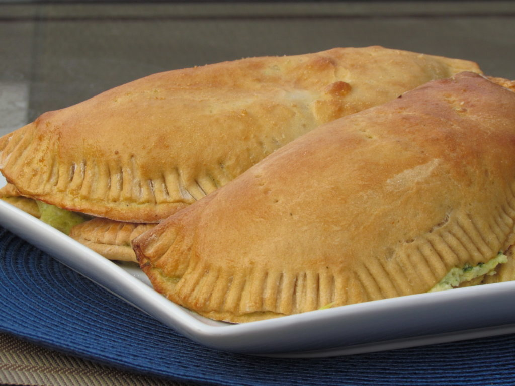 These Freezer-Friendly Whole Wheat Calzones are perfect for a quick lunch or dinner. One of our favorite recipes ever!