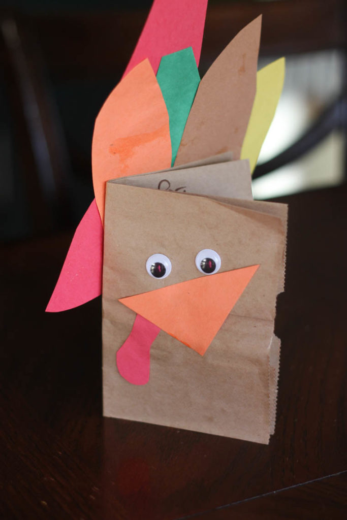 Thankful Turkeys: An easy and meaningful Thanksgiving craft to do with kids. Inside the DIY turkey, your kids will document things they are thankful for that year. It'd be fun to do one each year!