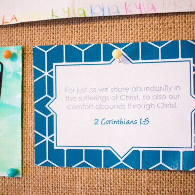 Truth for Trials: Printable Verse Cards