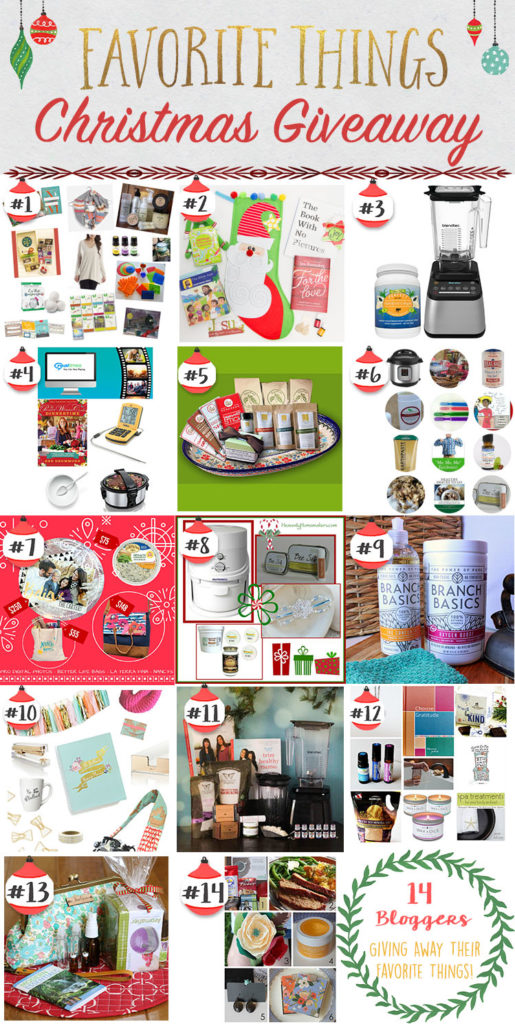 Enter Thriving Home's Favorite Things Giveaway to win $650+ in awesome prizes! Then, blog hop to 13 other BIG giveaways, too.