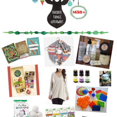 Favorite Things Christmas Giveaway and Blog Hop ($650+ Value!) (EXPIRED)