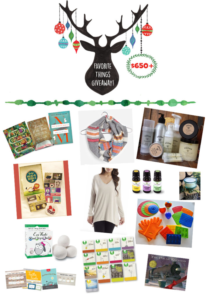 Enter Thriving Home's Favorite Things Giveaway to win $650+ in awesome prizes!