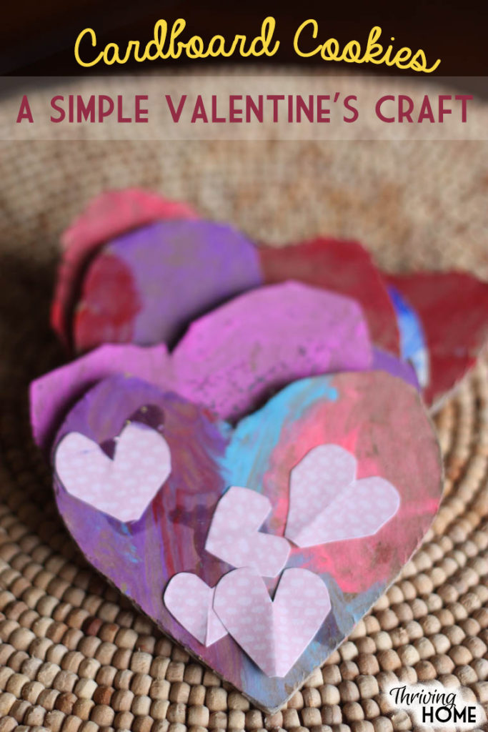 "Kids love decorating their ""cookies"" and have a lot of fun with this Valentine's Day craft idea. Most of the materials you likely have around your house! 