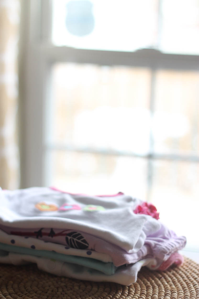How to remove the yellow staining that shows up in stored baby clothes. And yes, this will likely happen to you!