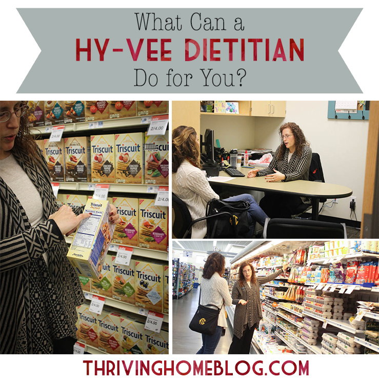 We were surprised to find out all the ways (many FREE) that Hy-Vee Dieticians are there to help customers.
