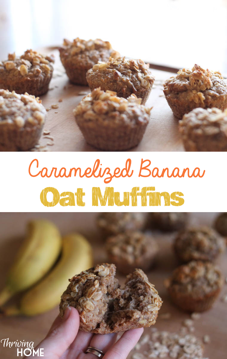 These caramelized muffins will satisfy your hunger with nutrient-dense ingredients. Enjoy!