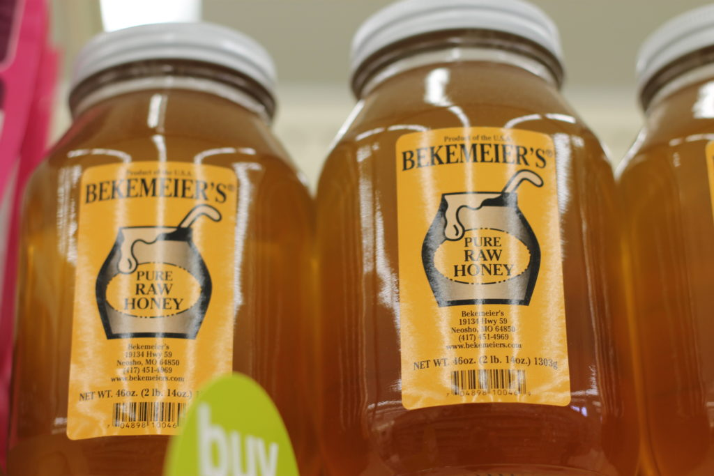 Top 10 Local Items from Hy-Vee Columbia (local honey)
