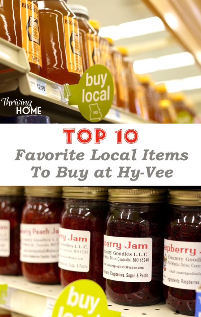 Buying locally helps the community, the environment, and often results in tastier, healthier products! Here are our Top 10 local favorites at Hy-Vee.