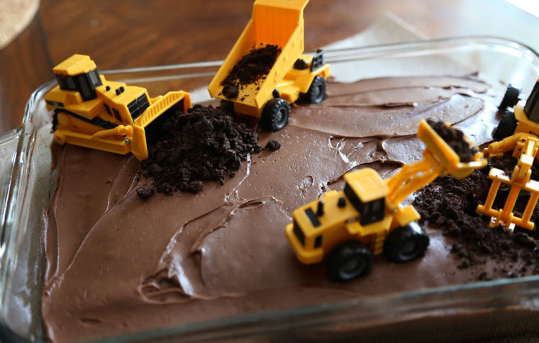 DIY Boys Birthday CakeConstruction Party Thriving Home