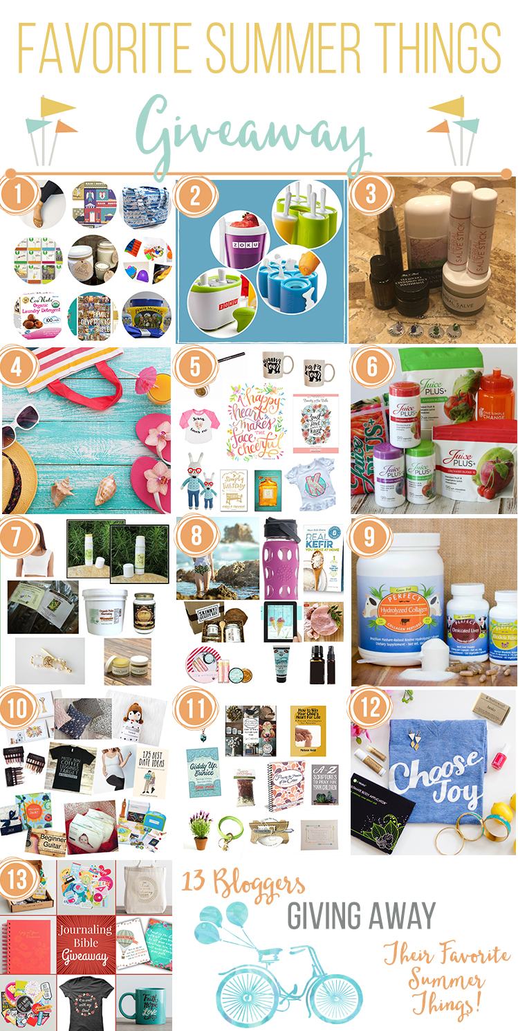Favorite Summer Things Giveaway/Bloghop