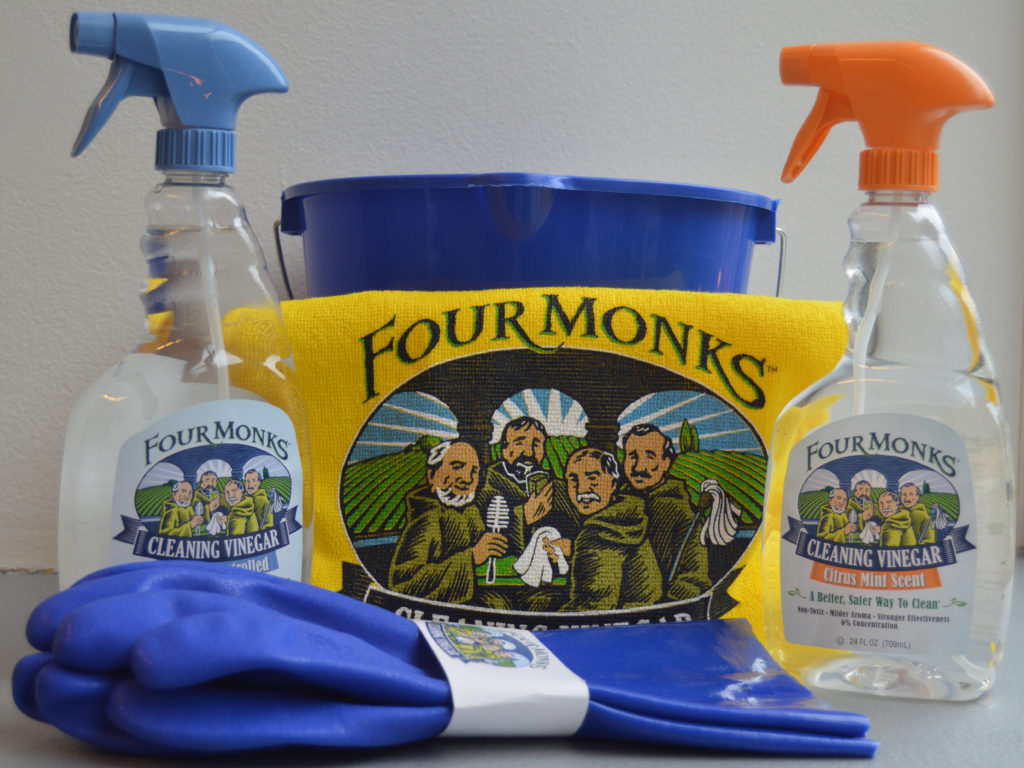 Four Monks Cleaning Kit