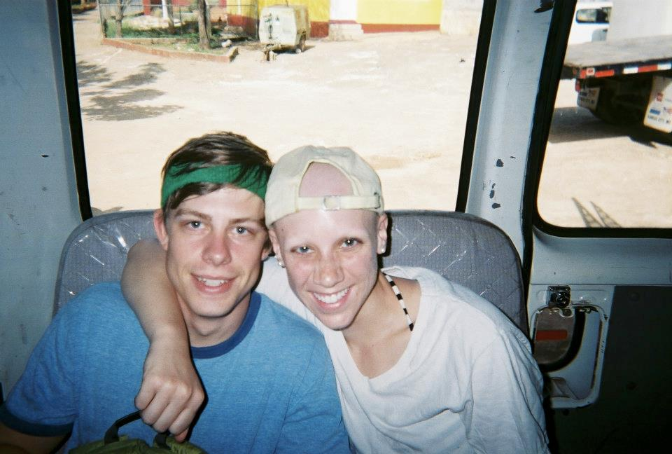 Zach and Laura in Jamaica - Goodbye Wig!