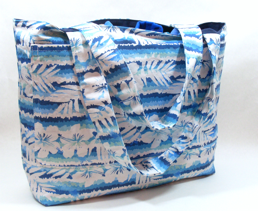 blue-aloha-floral-beach-tote