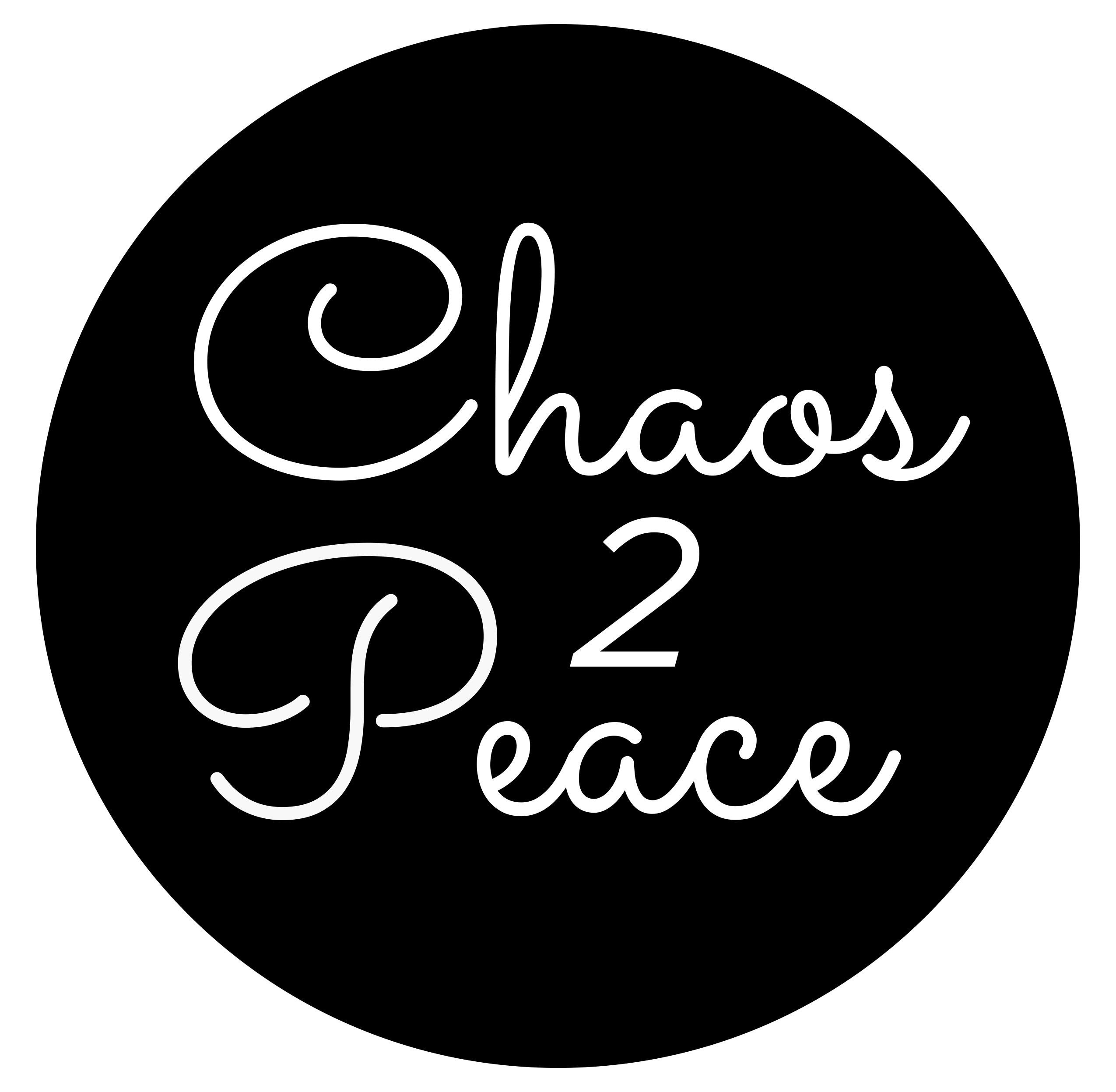 chaos 2peace logo