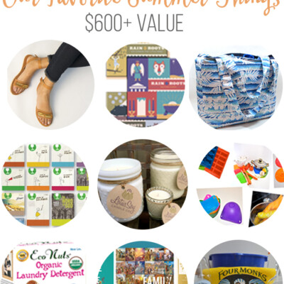 Favorite Summer Things Giveaway ($600+ Value)